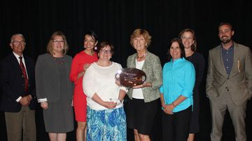 University Counsel receives inaugural Supporting Women in Law award