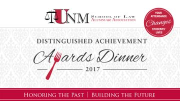 UNM School of Law hosts annual Distinguished Achievement Awards dinner