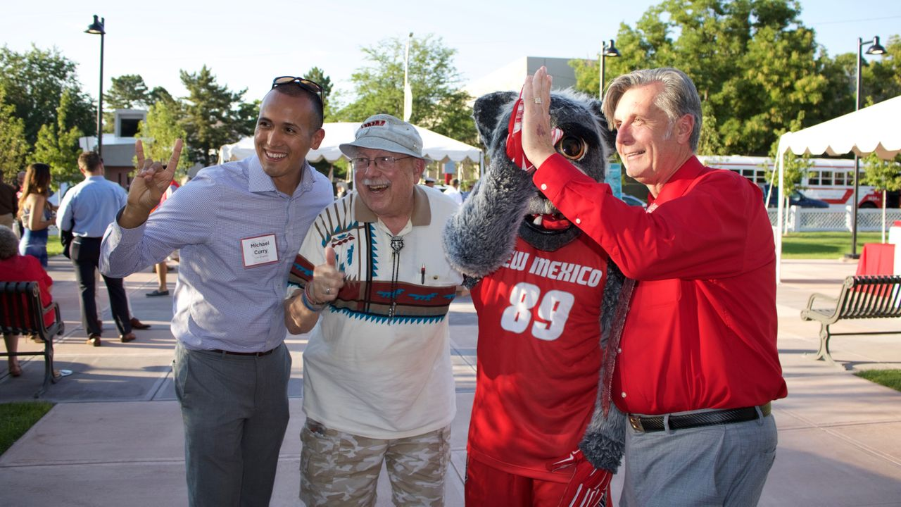 UNM staff and supporters from around the U.S. enjoyed the celebration