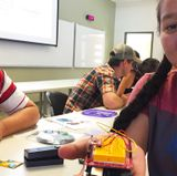 High-schoolers build sensors, test them at Sandia crest