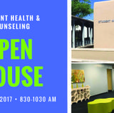 Student Health & Counseling to hold Open House on Aug. 18
