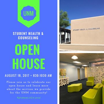 SHAC Open House Flyer