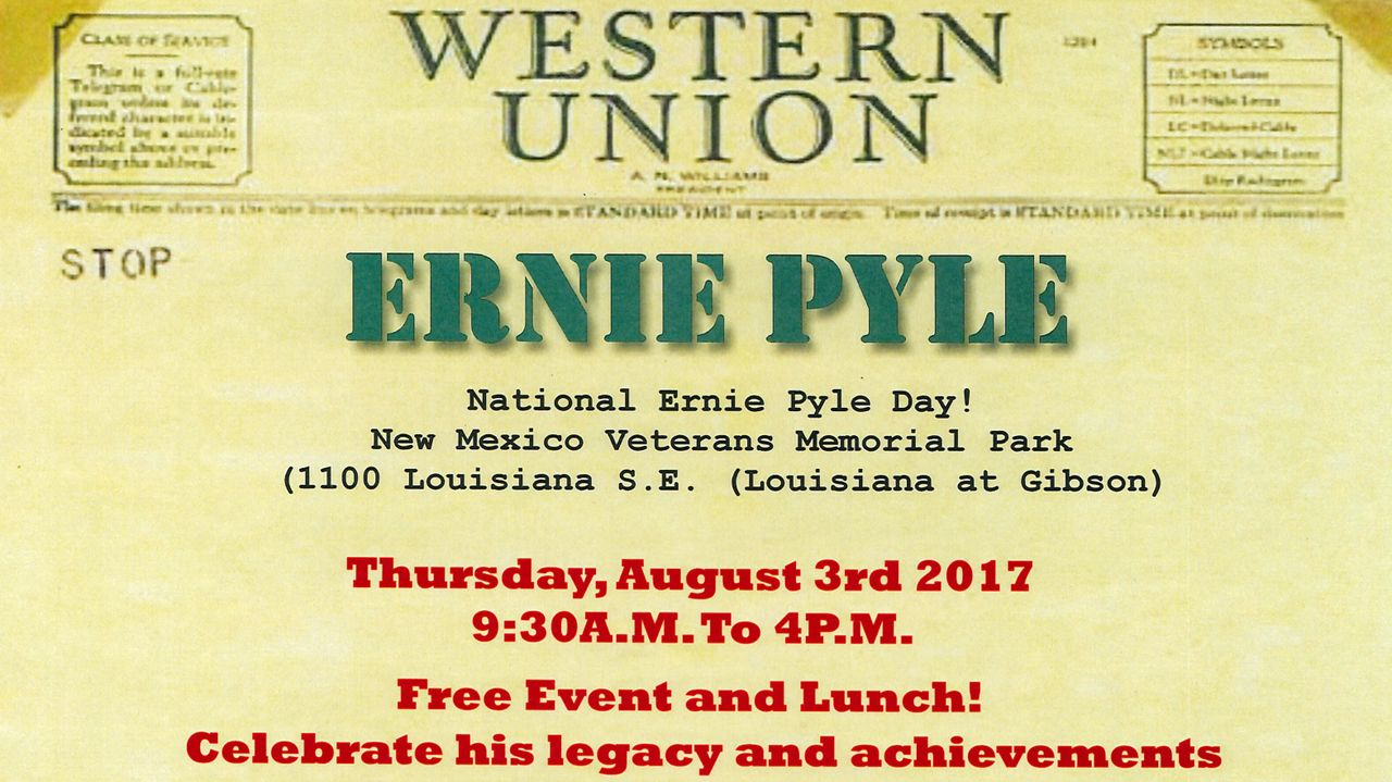 National Ernie Pyle Day
