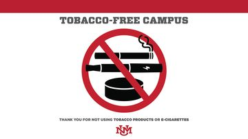 "UNM to become ""tobacco-free"" for students, staff, faculty beginning Fall 2017"