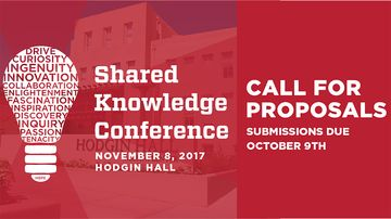Shared Knowledge Conference accepting nominations & applications
