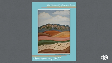 UNM undergraduate chosen as Homecoming Poster artist in inaugural contest