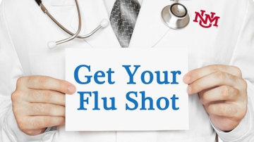 SHAC flu shot clinics for UNM students, staff & faculty
