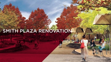 Smith Plaza ground breaking ceremony
