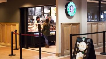 Zimmerman Starbucks back open for business
