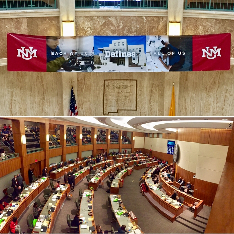 UNM Day at the Legislature