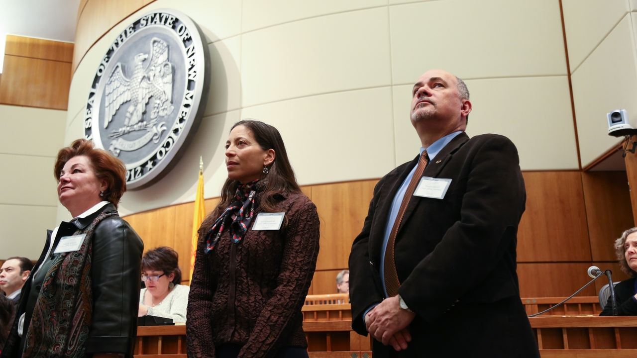 Faculty honored by Legislature