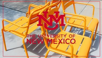 The University of New Mexico — Take a seat