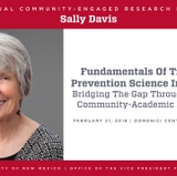 Davis awarded third annual Community-Engaged Research Lectureship Award