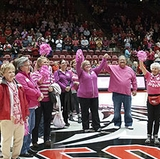 UNM basketball teams celebrate 'Lobos Love Pink' week