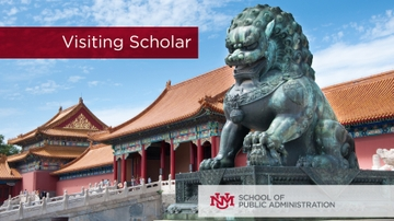 UNM to host visiting scholar from Beijing