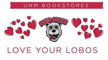 UNM Bookstores features 'Love Your Lobos' sale