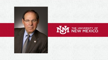 UNM Executive Vice President for Administration, COO & CFO David W. Harris announces plans to retire by end of 2018