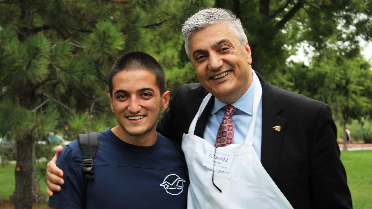 Chaouki and nephew