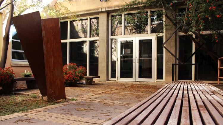 CFA courtyard