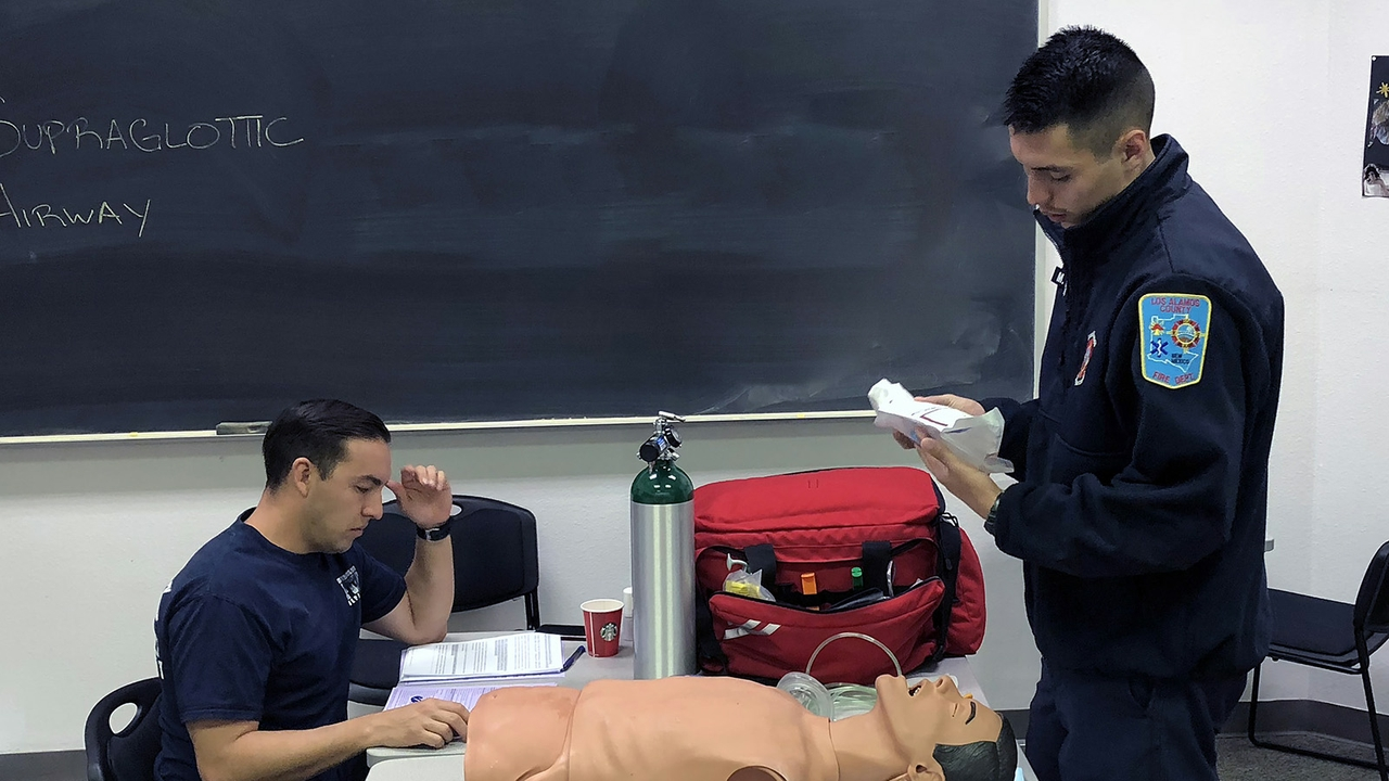 UNM-LA, EMT National Registry Test