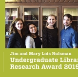 Award and scholarship to support undergraduate researchers
