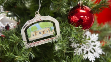 2018 UNM holiday ornament hits bookstore shelves