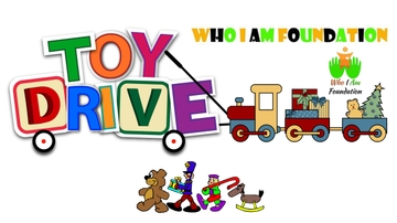 Donate new unwrapped toys for the Who I Am Foundation