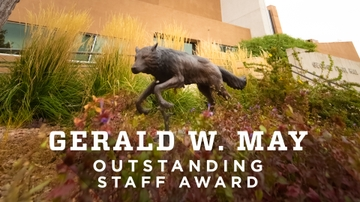 2018 Gerald W. May Outstanding Staff Award winners announced