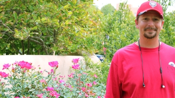 Master gardener for campus and community