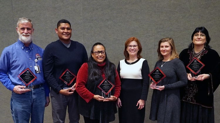 Gerald W. May Outstanding Staff Awards