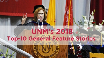UNM's 2018 top-10 general news stories