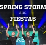 Gearing up for Spring Storm and Fiestas