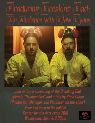 Breaking Bad event flyer