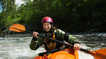 Whitewater kayaking class sign-ups are open