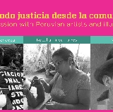 Peruvian artists and activists share work on truth, justice and reconciliation