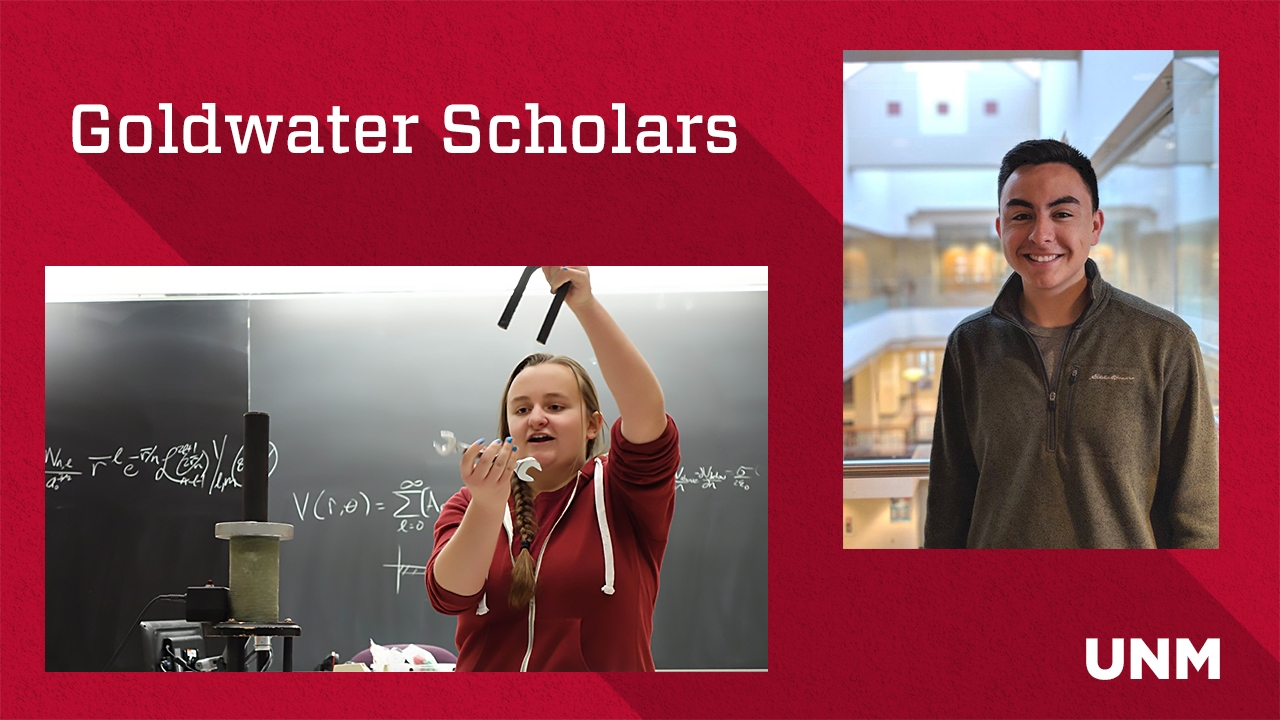 Lobo undergrads honored with one of the most prestigious national scholarships