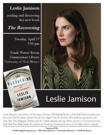 Leslie Jamison Flyer
