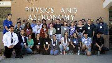 UNM Physics Day 2018 a huge student success