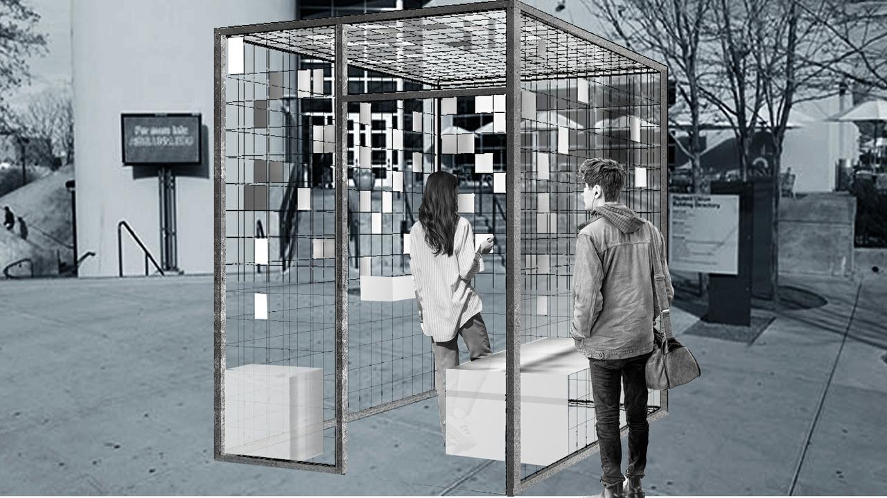 Cage Render