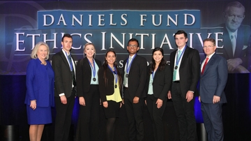 UNM Anderson School of Management students earn second place in ethics competition