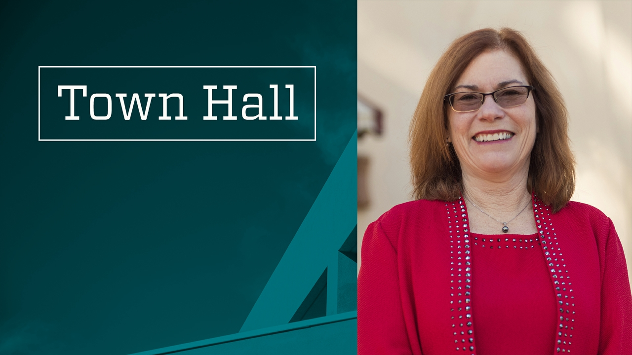 Campus town halls with President Garnett S. Stokes scheduled