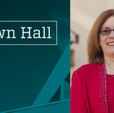 Campus town halls with President Garnett S. Stokes scheduled