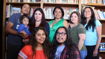 Chicana and Chicano Studies staff, faculty and students