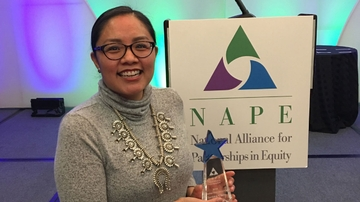 NM EPSCoR diversity coordinator honored with national STEM diversity award