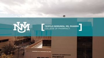 Teófilo Borunda – College of Pharmacy – Class of 2018