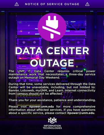 Data Center Outage