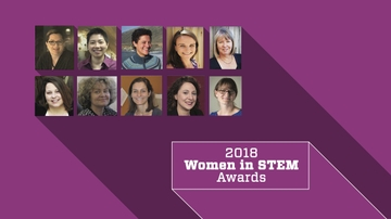 2018 Women in STEM awards announced