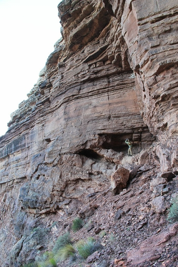 Great Unconformity in Sixtmile Canyon
