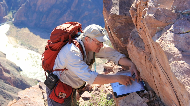Measurements in the Tapeats sandstone