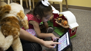 Helping children with communication disorders find their voice